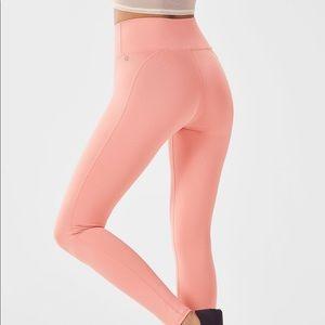 Fabletics Pink Powerhold Leggings